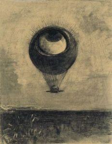 Redon Eye Balloon 1878