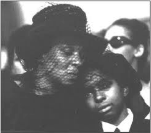 Fannie Lee and Ben Chaney