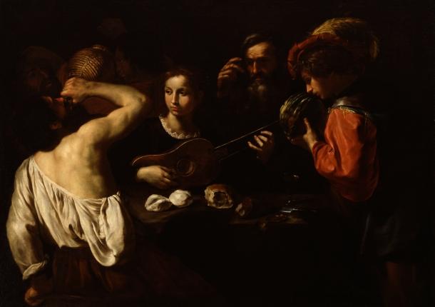 Pietro Paolini's Allegory of the Five Senses